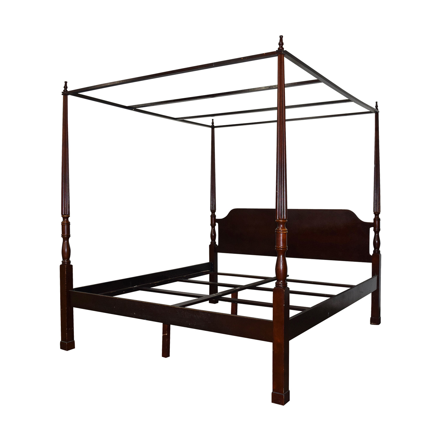 buy Bombay Bombay Canopy King Cherry Wood Bed Frame online