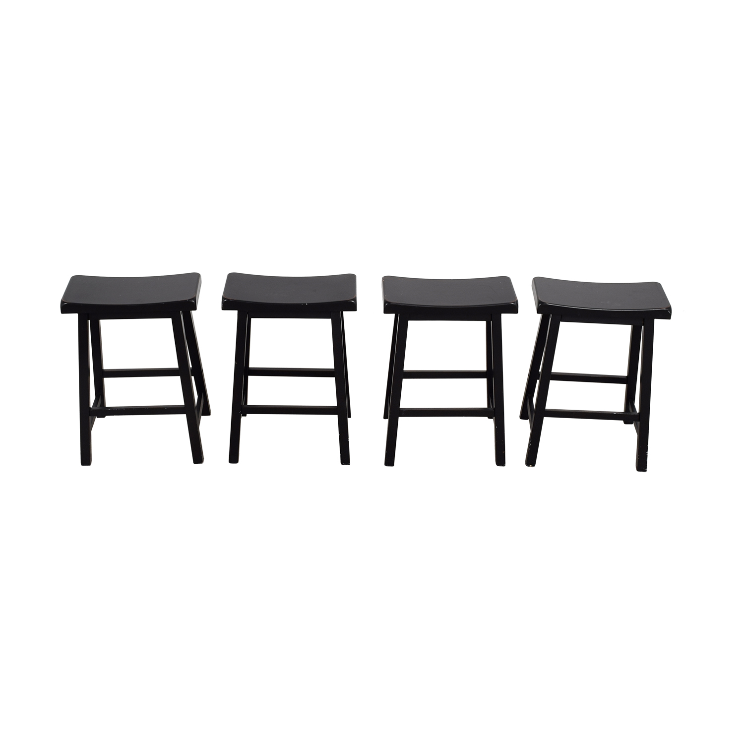 shop Rectangular Wood Bar Stools