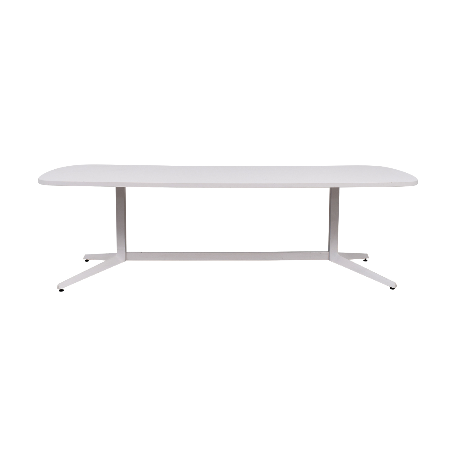 Knoll Knoll White Conference Table ...