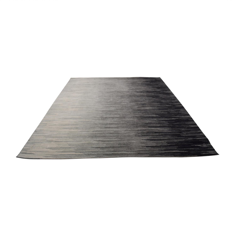 shop Nuloom Bodrum Grey and Black Rug Nuloom Bodrum Rugs