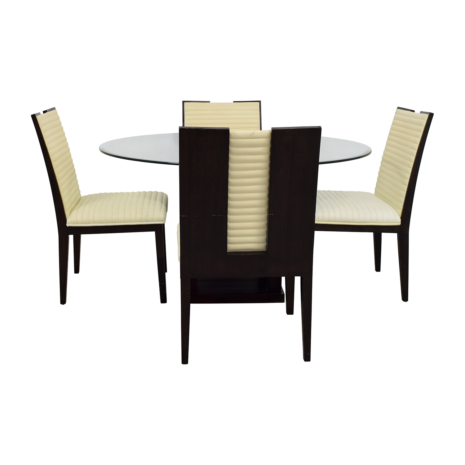 shop Z Gallerie Z Gallerie Black and Glass Dining Set online