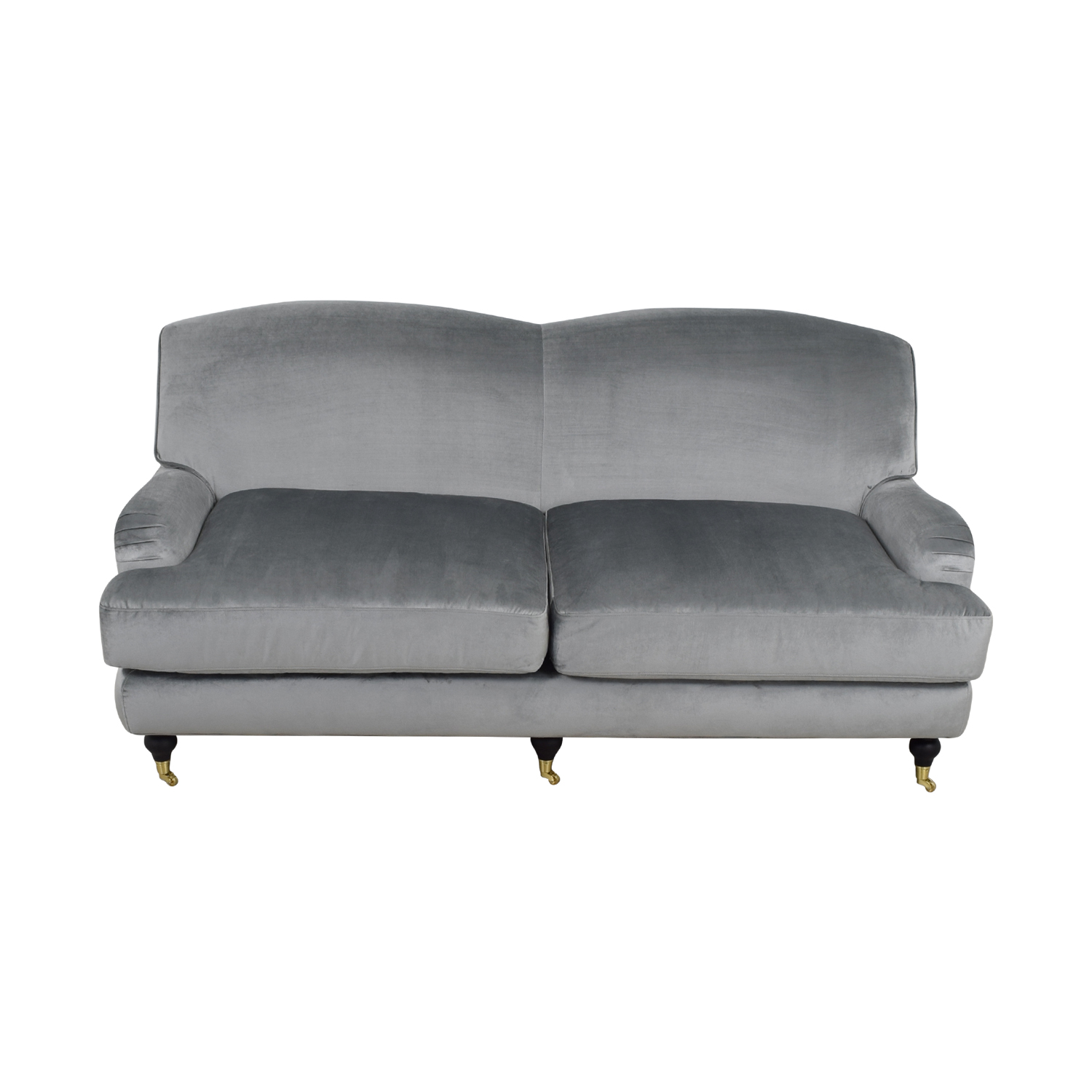 shop Interior Define Rose Metallic Silver Sofa Interior Define