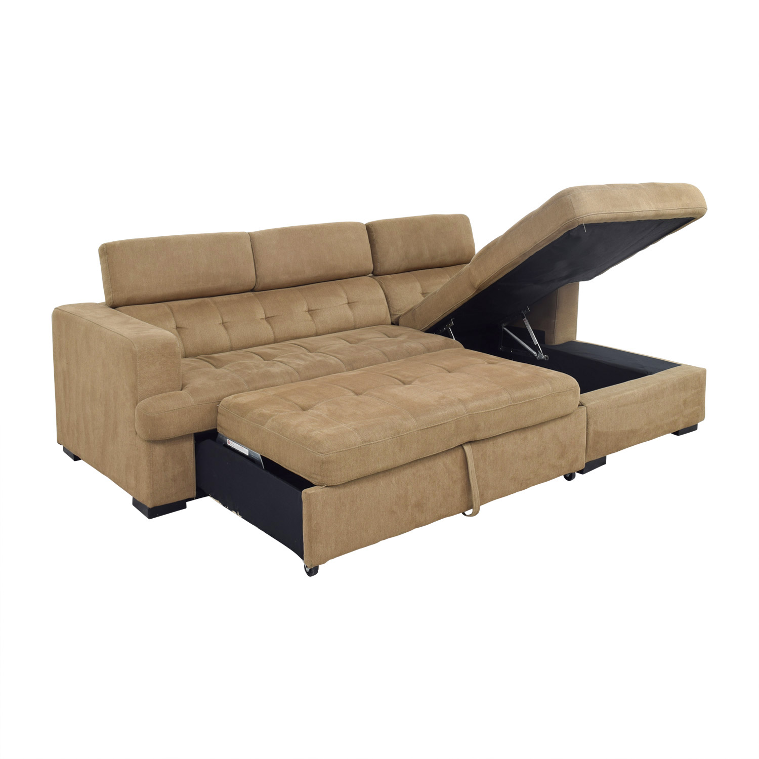 Furniture Store Cheap Prices: Bob's Furniture Bob's Furniture Brown Pull Out