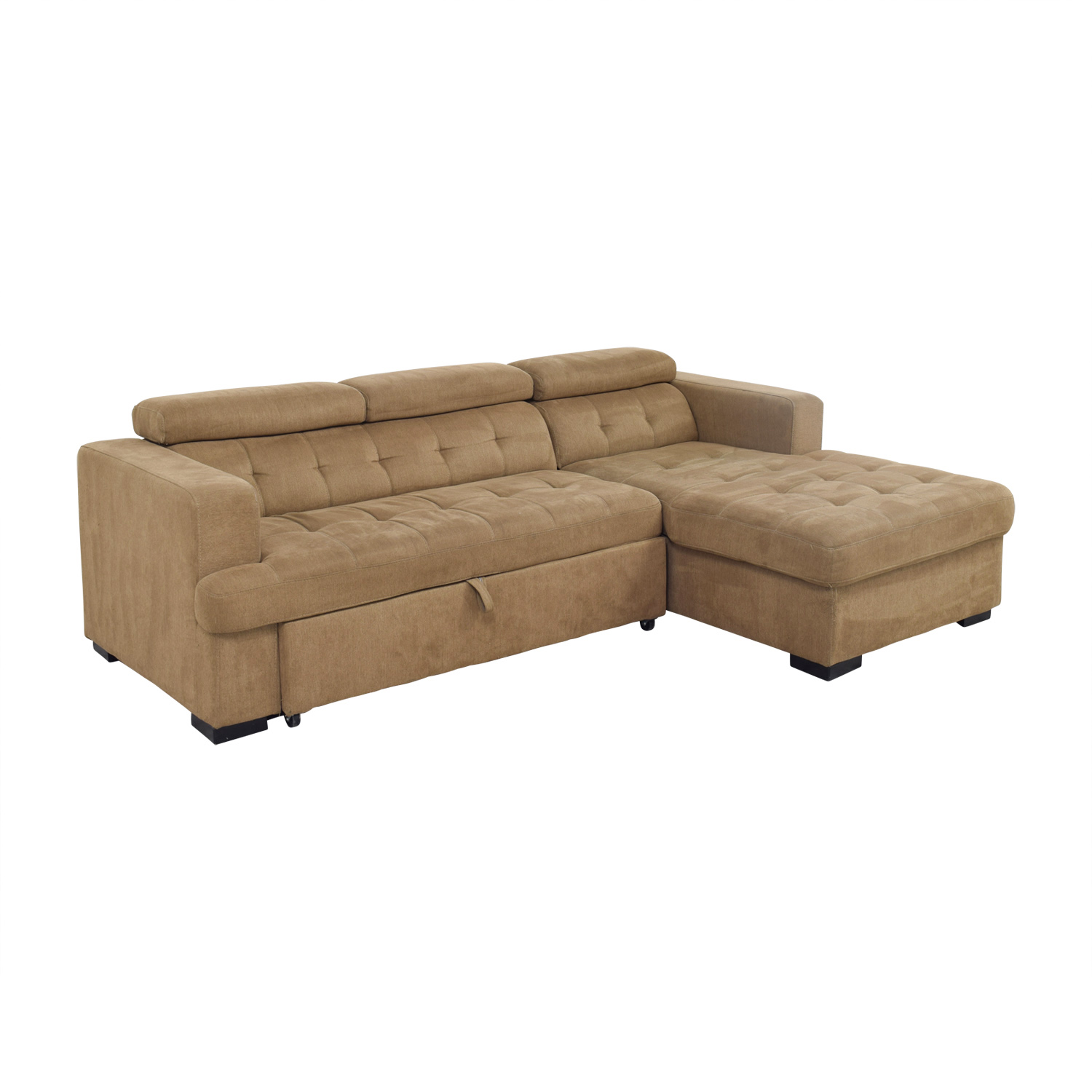 40 Off Bob S Furniture Bob S Furniture Brown Pull Out