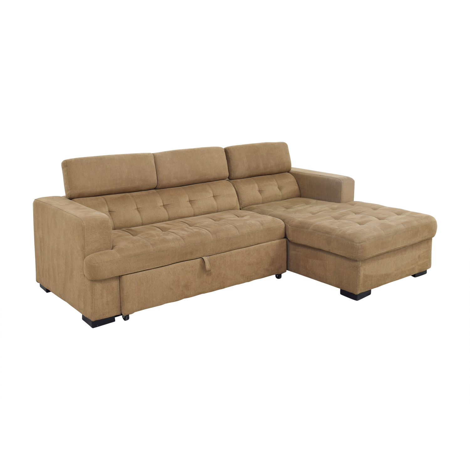 OFF Bob s Furniture Bob s Furniture Brown Pull Out
