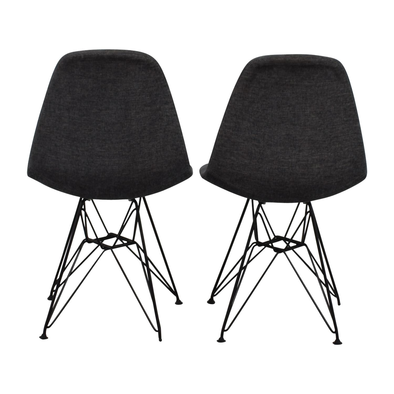 West Elm West Elm Grey Chairs grey
