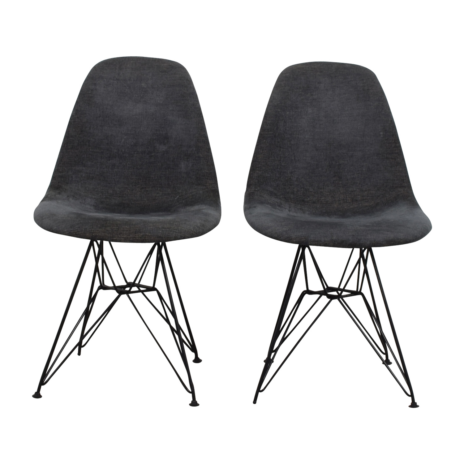 West Elm West Elm Grey Chairs Chairs