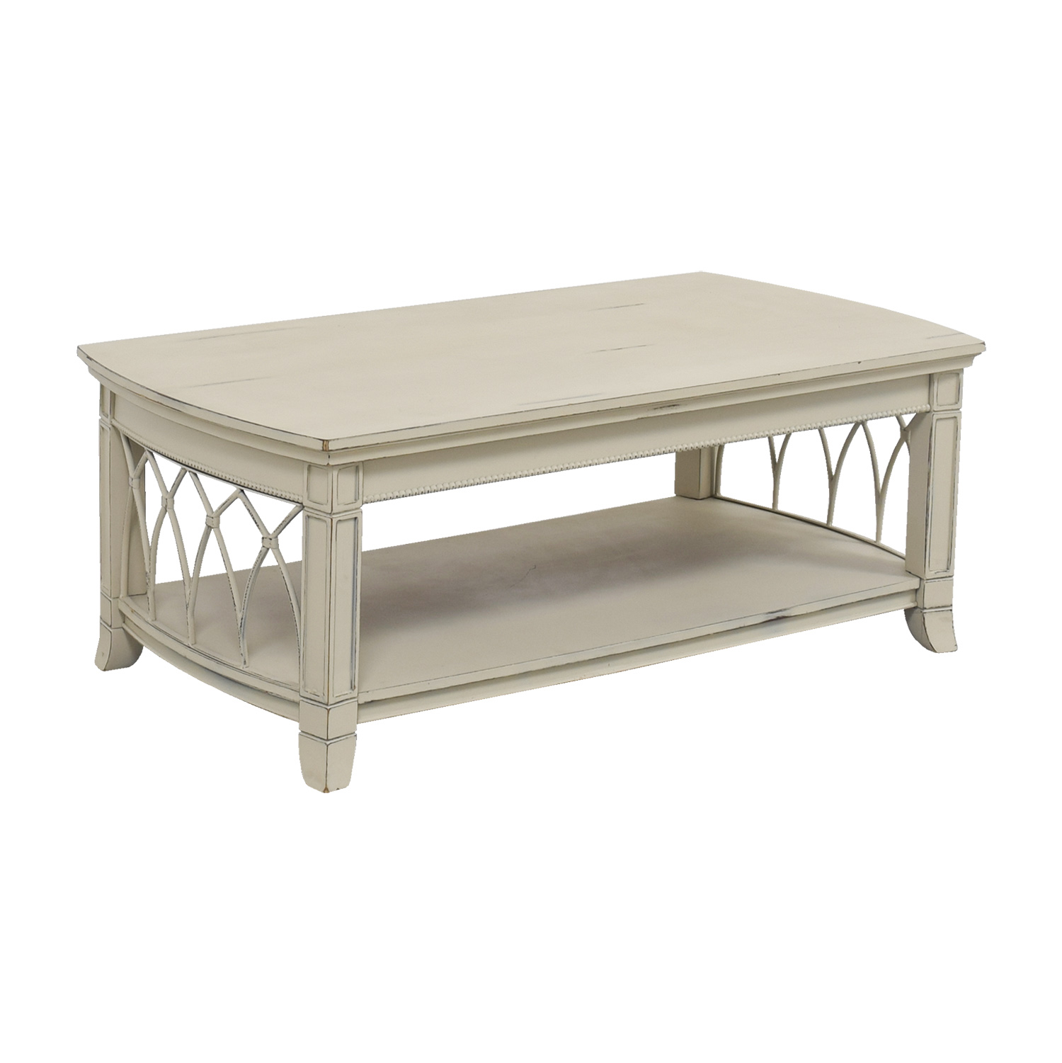 white coffee table 75 custom white distressed coffee table tables 11759