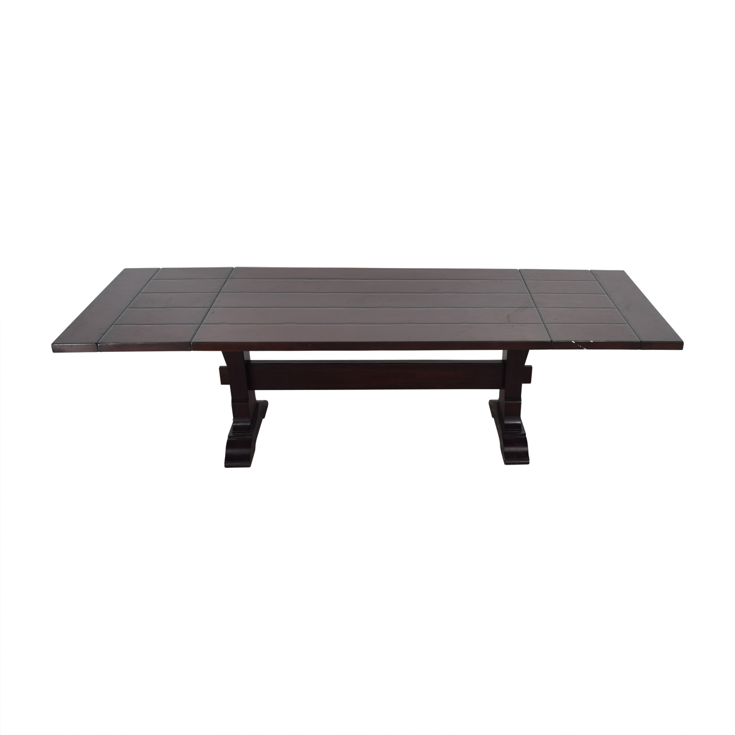Pottery Barn Extendable Wood Dining Table Online