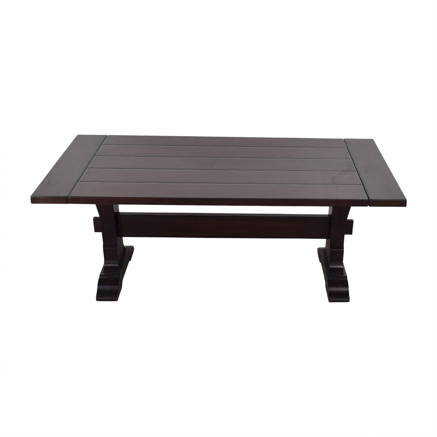 Pottery Barn Pottery Barn Extendable Wood Dining Table for sale