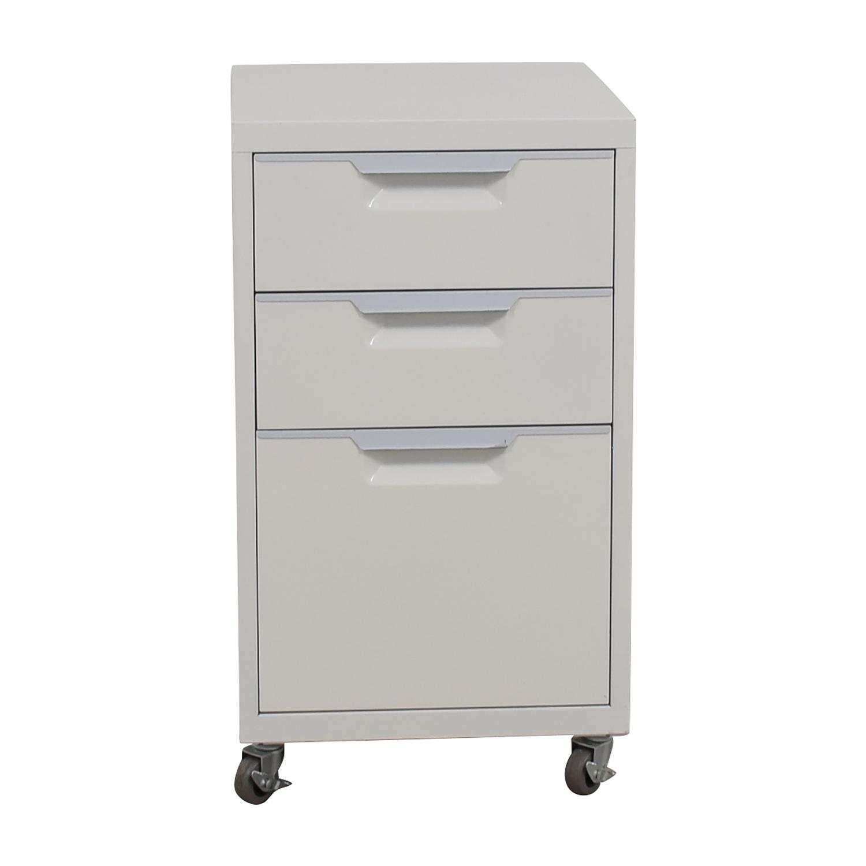 CB2 CB2 White File Cabinet coupon