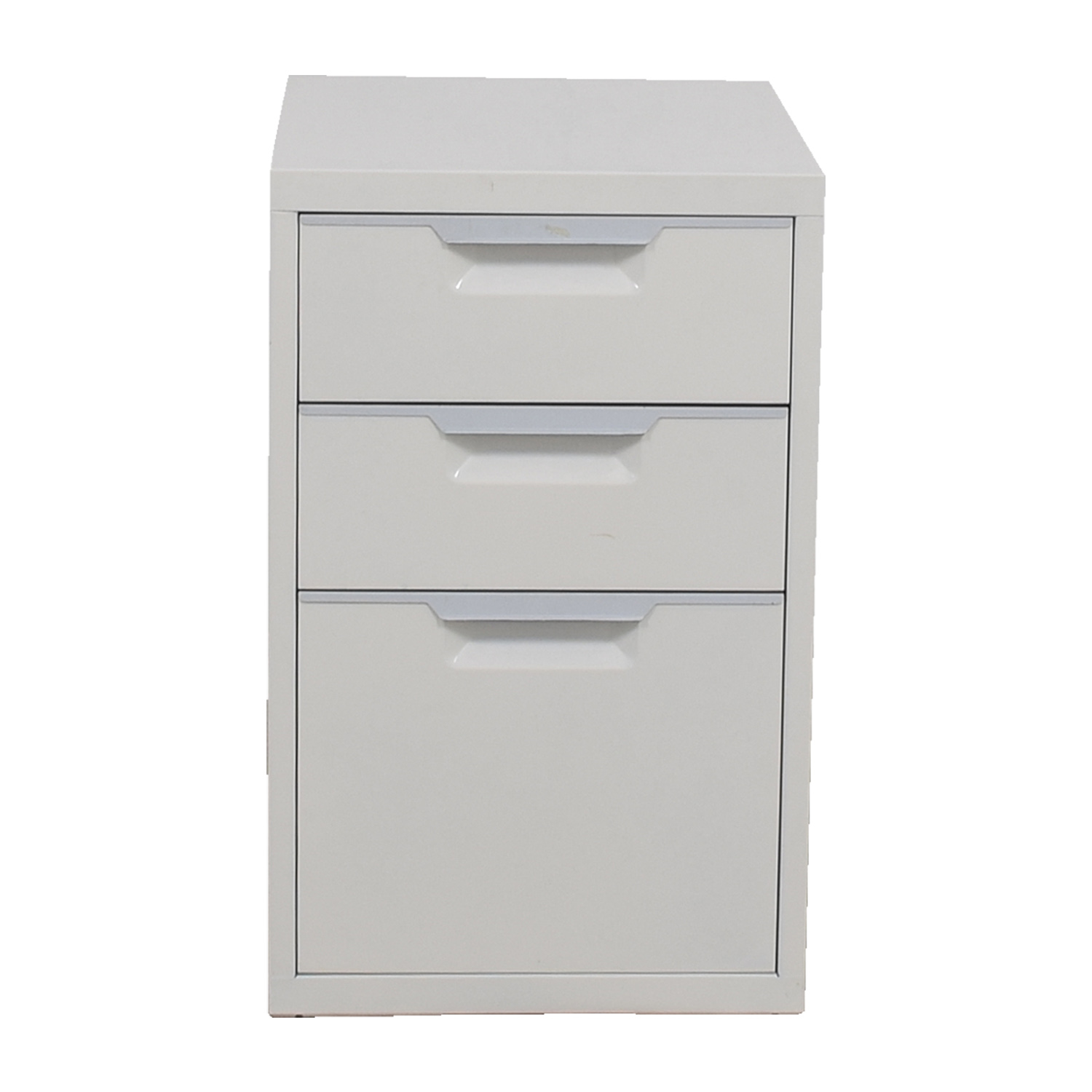 CB2 CB2 White File Cabinet on sale
