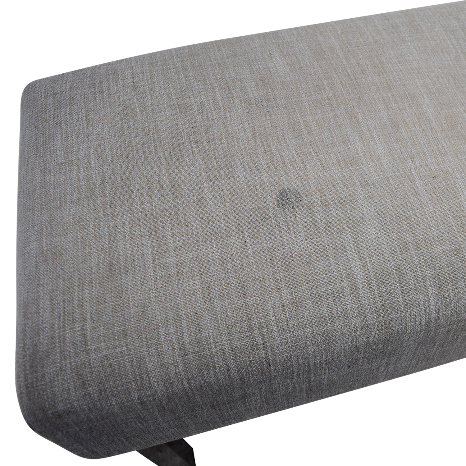 buy West Elm Grey Tufted Bench West Elm Chairs