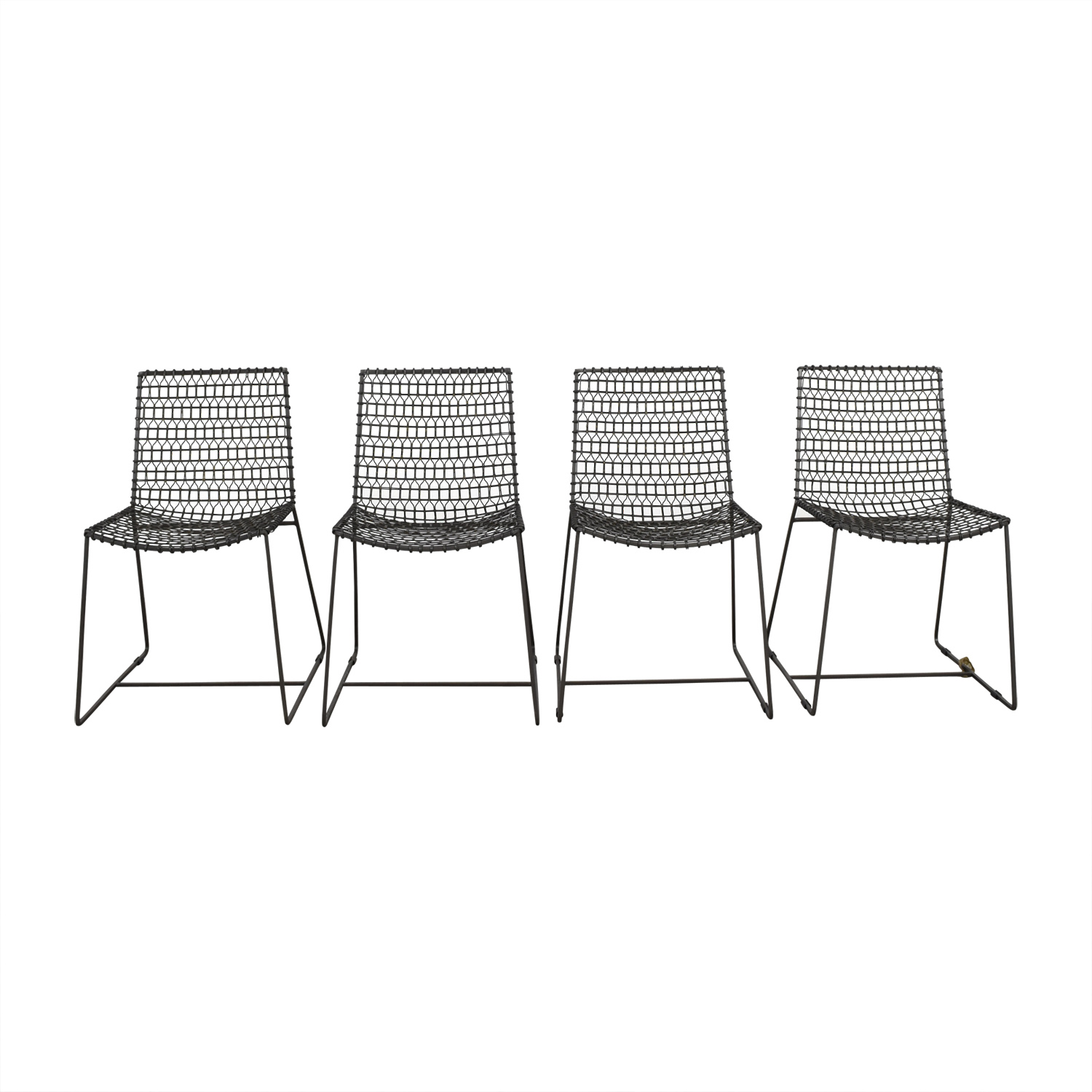 Crate & Barrel Crate & Barrel Metal Chairs nyc