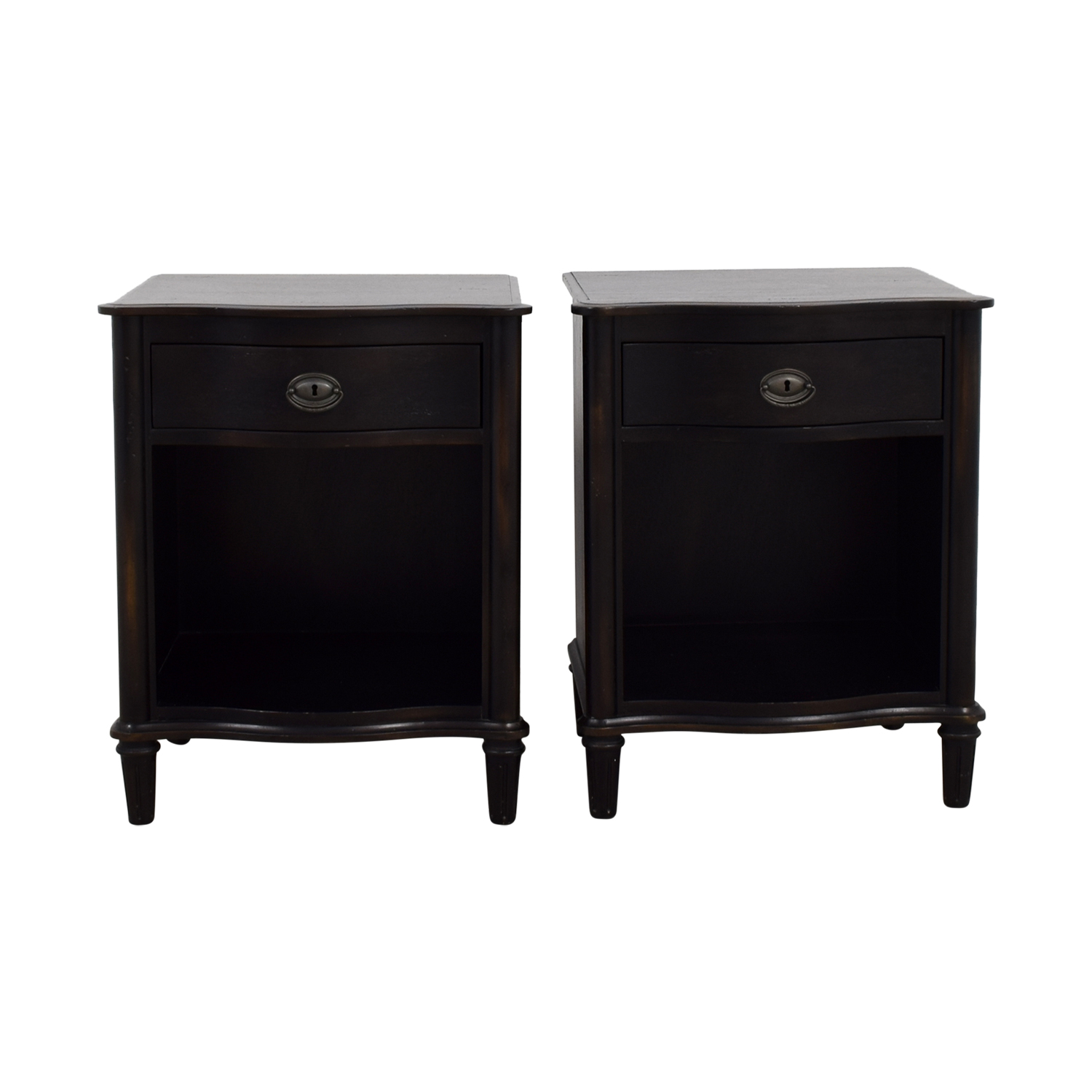 Restoration Hardware Empire Rosette Nightstands / End Tables
