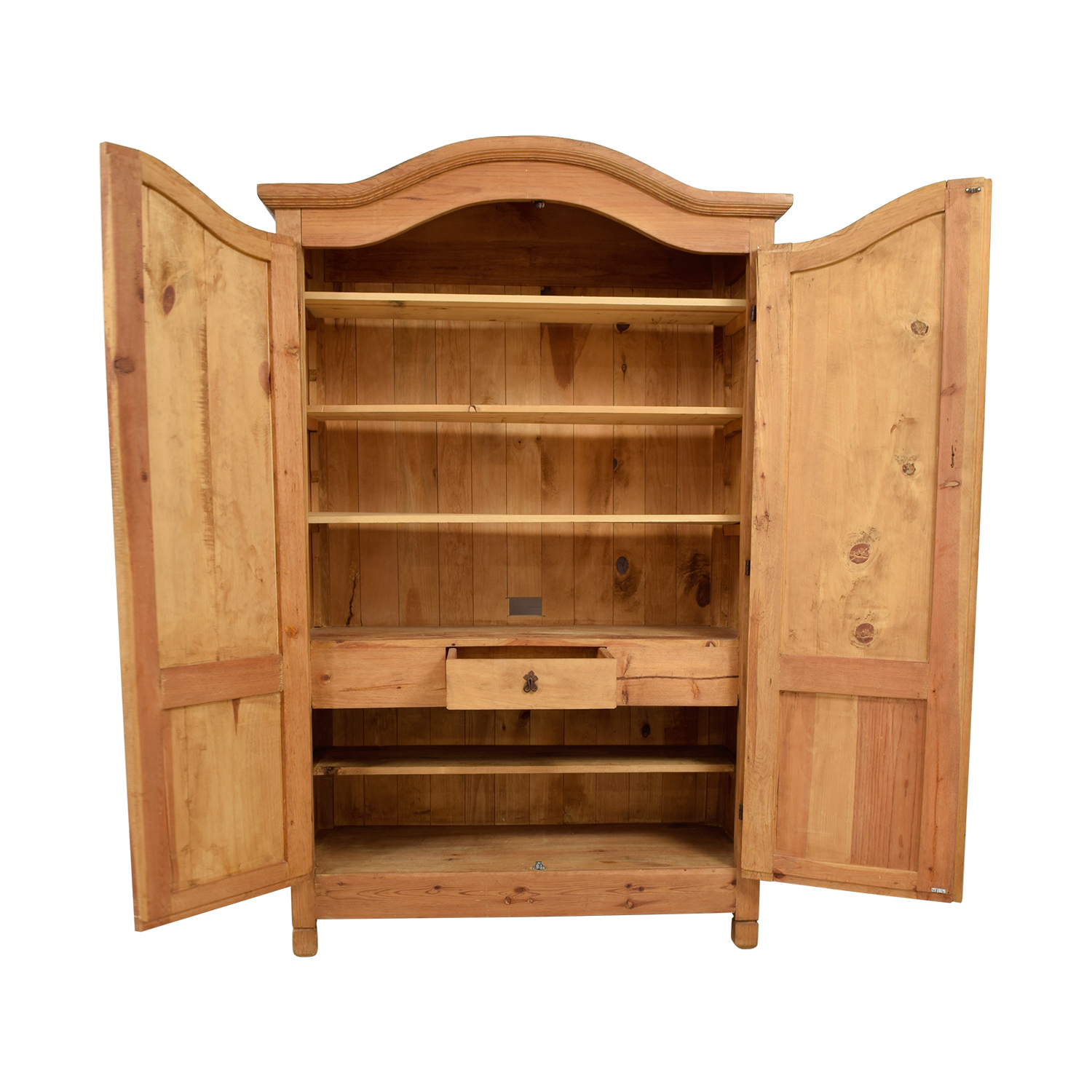 shop Million Dollar Rustic Wood Armoire Million Dollar Rustic Wardrobes & Armoires