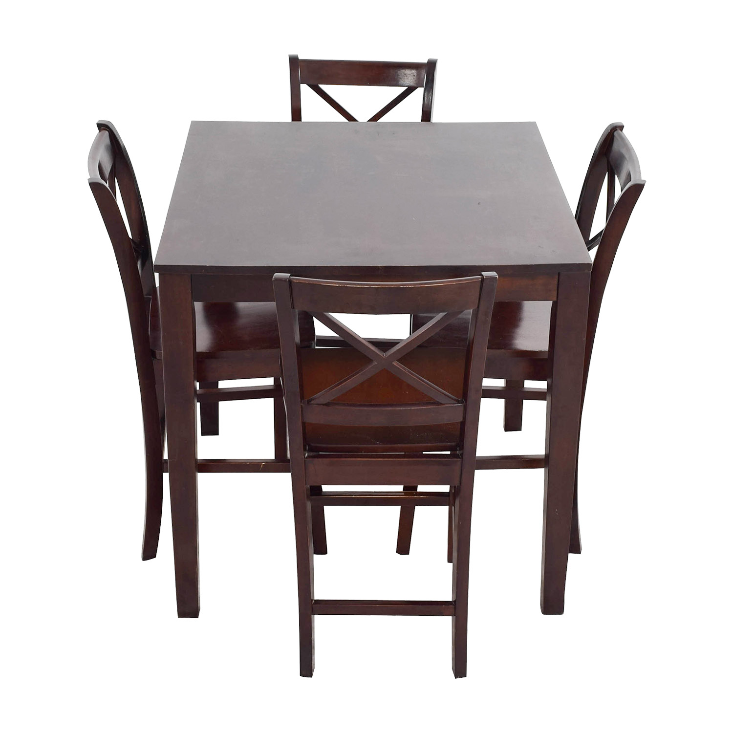 Bar Height Wood Dining Set / Dining Sets