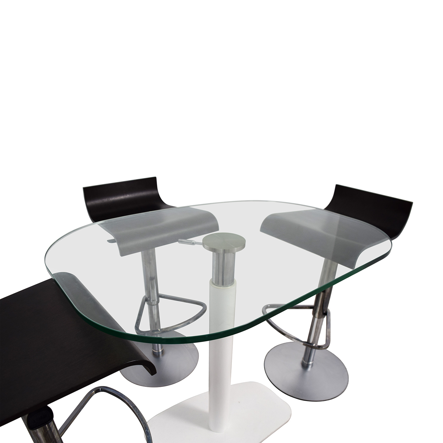 Ligne Roset Ligne Roset Adjustable Counter Height Table and Bar Stools price