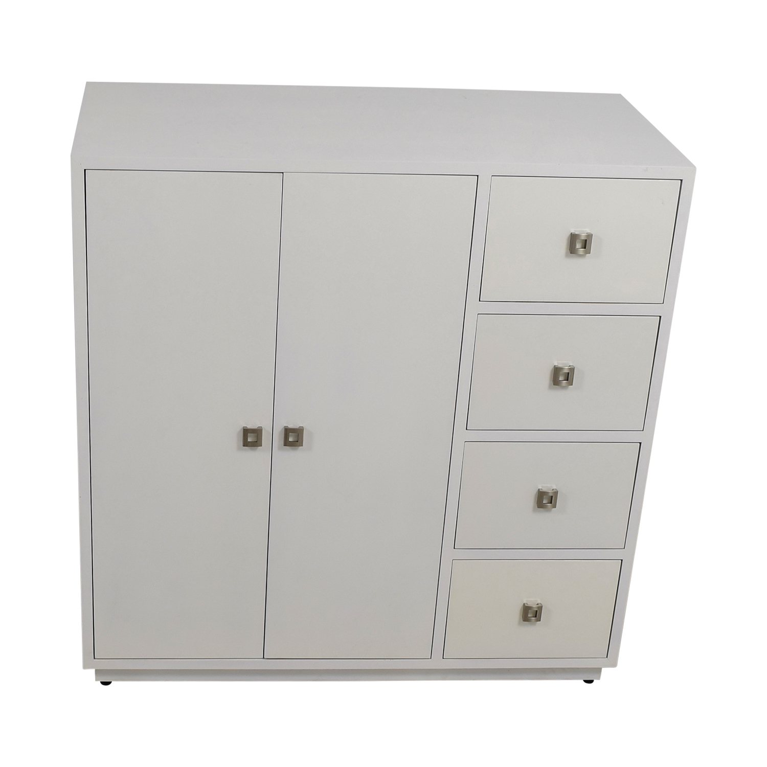 Custom White Lacquer Cabinet coupon