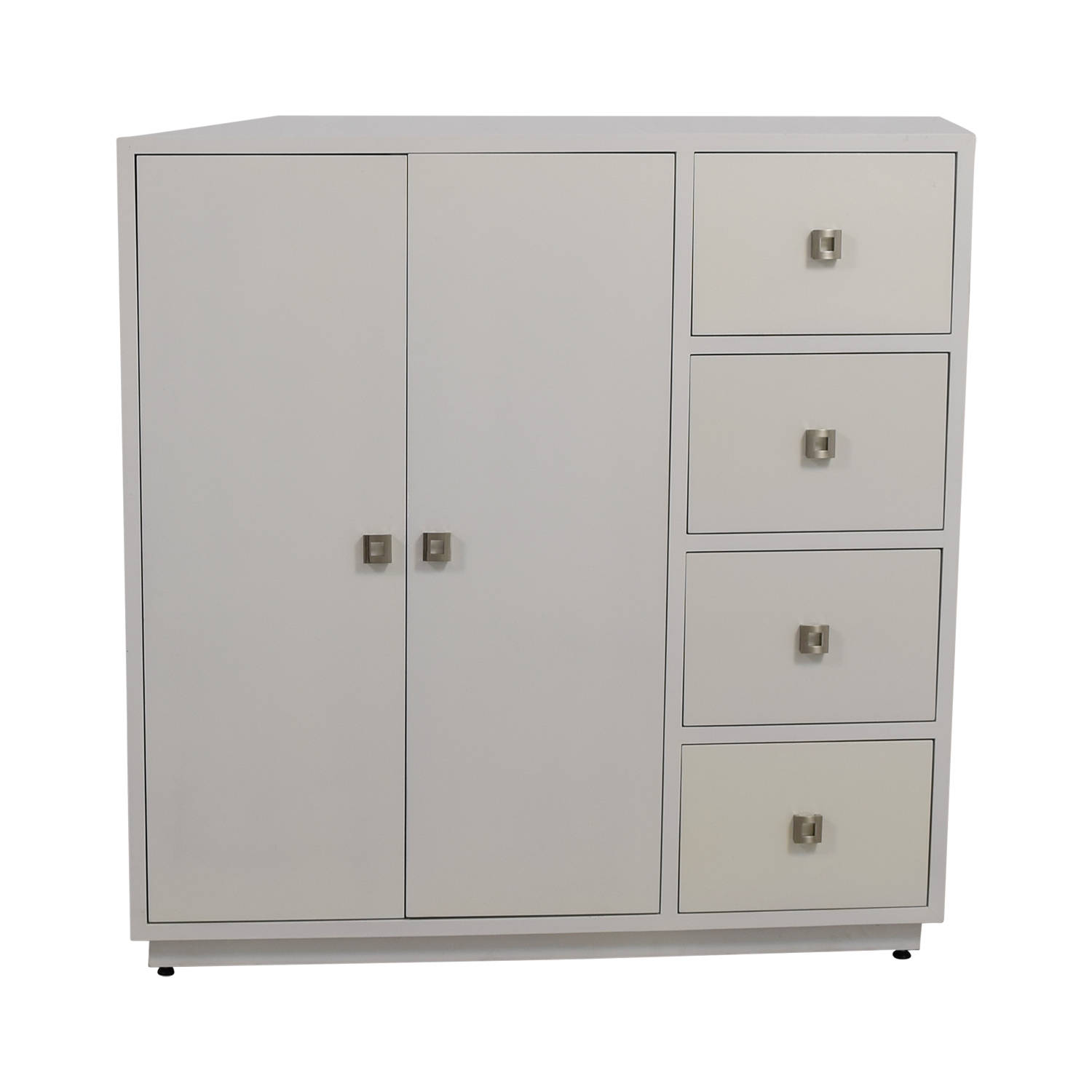 shop Custom White Lacquer Cabinet Storage