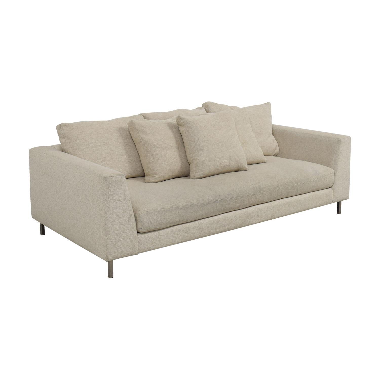 Superieur ... Shop Room U0026 Board Room U0026 Board Hayes Beige Single Cushion Sofa Online  ...