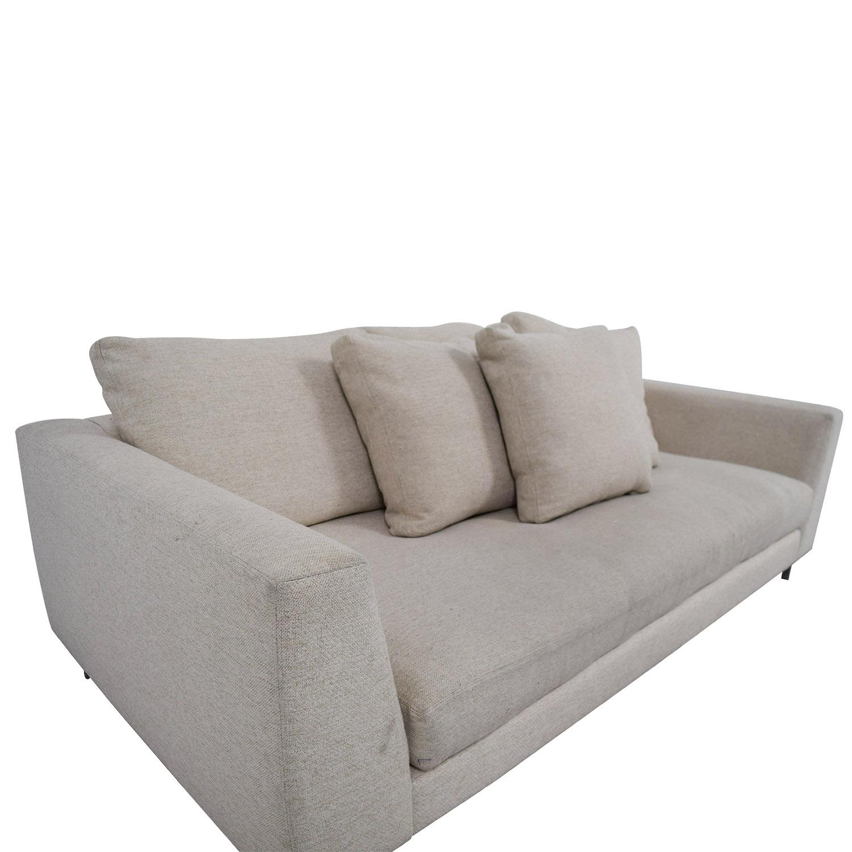 89 off room board room board hayes beige single cushion sofa