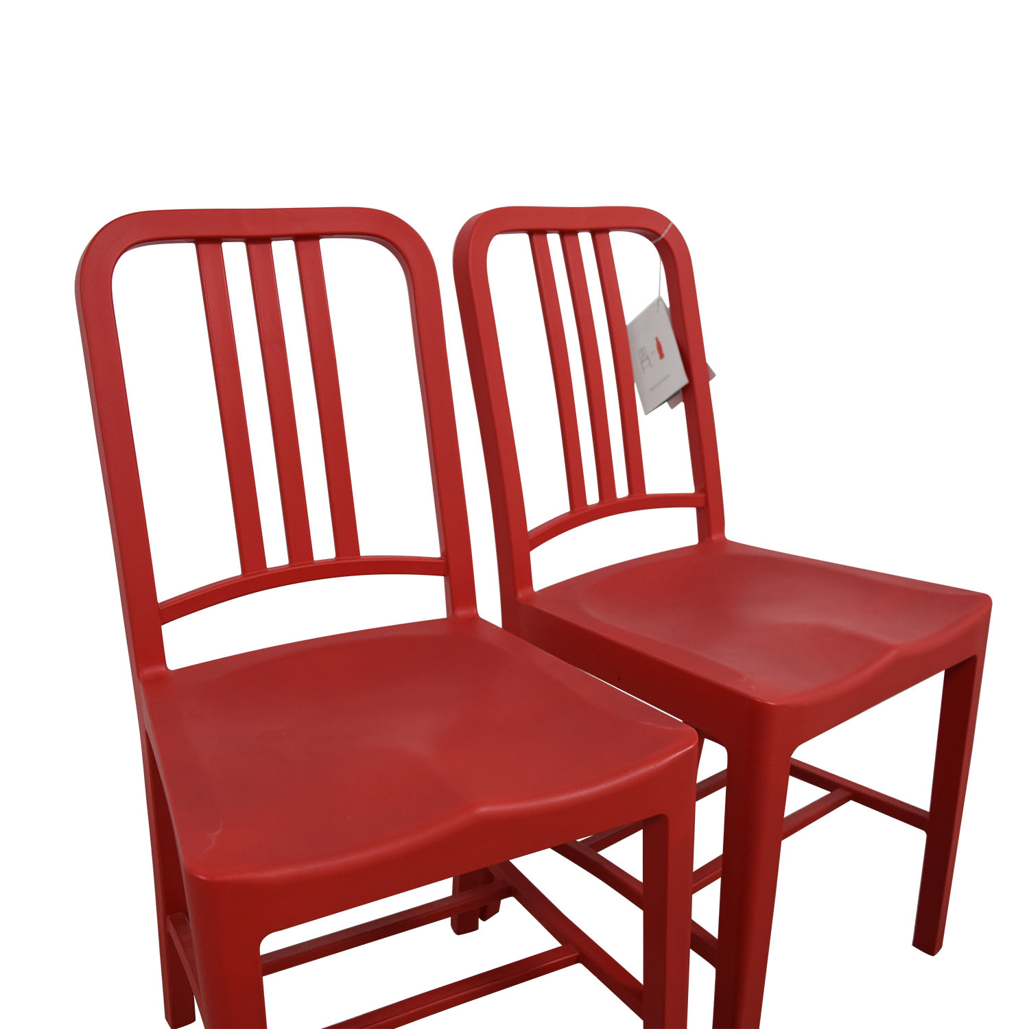 buy Emeco Emeco 111 Navy Recycled Red Chairs online