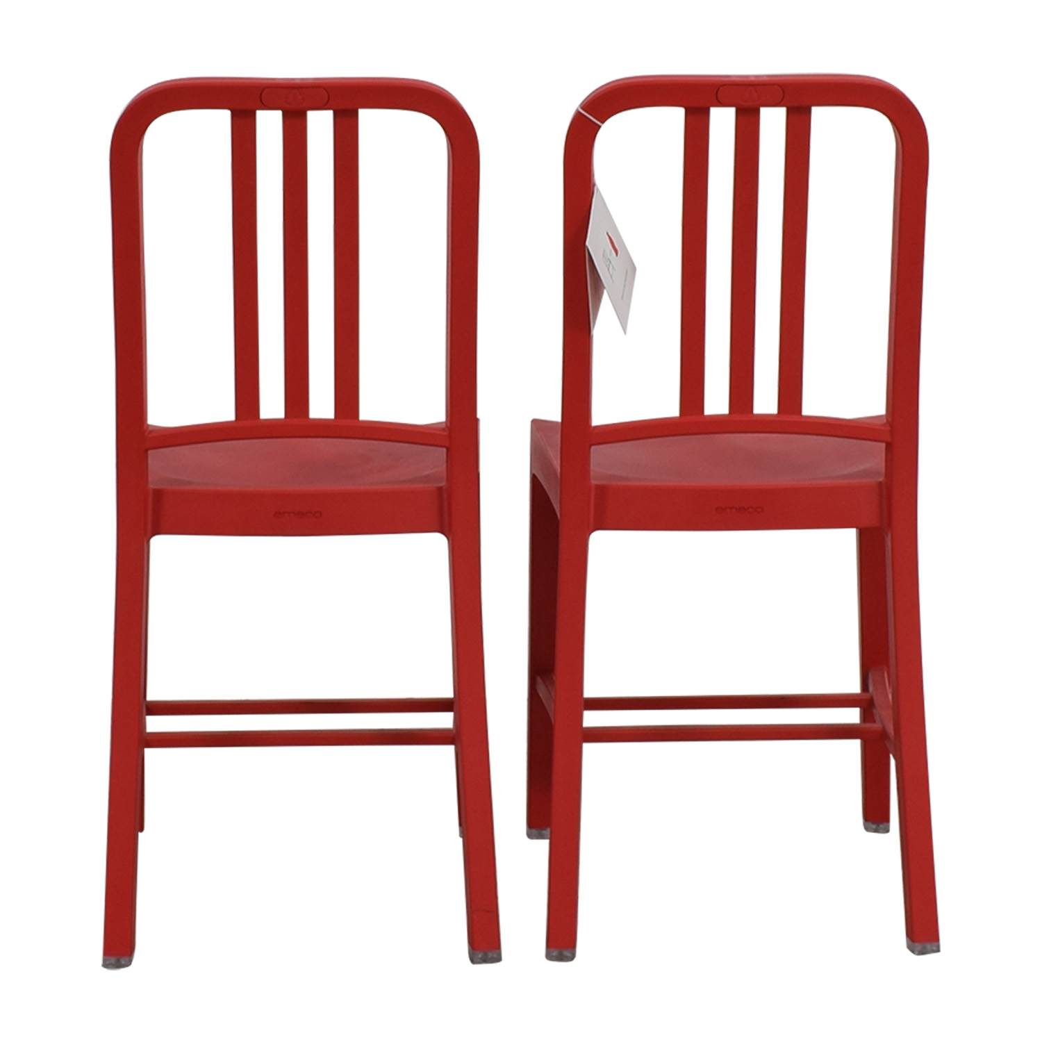 Emeco 111 Navy Recycled Red Chairs / Chairs