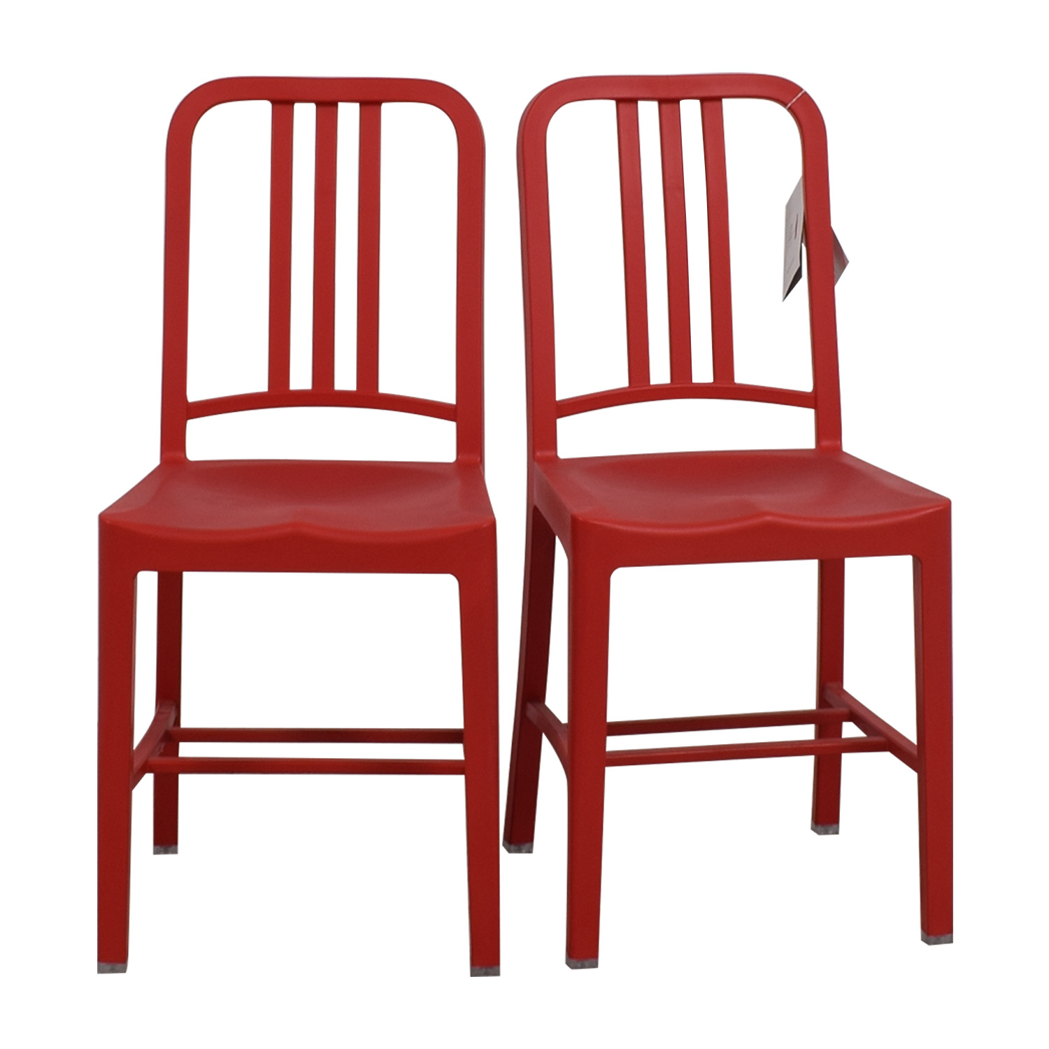 Emeco Emeco 111 Navy Recycled Red Chairs Dining Chairs