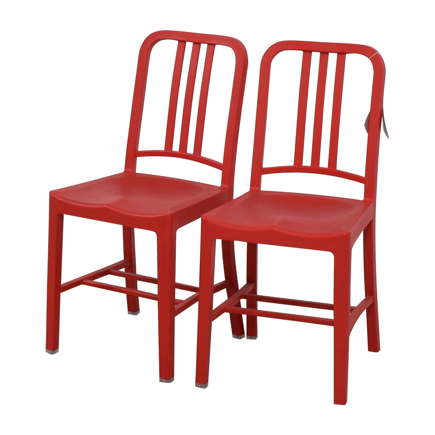 ... Shop Emeco 111 Navy Recycled Red Chairs Emeco Chairs ...