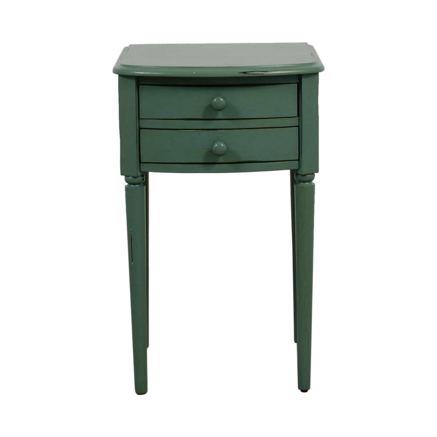 Pottery Barn Pottery Barn Vintage Seafoam Nightstand on sale