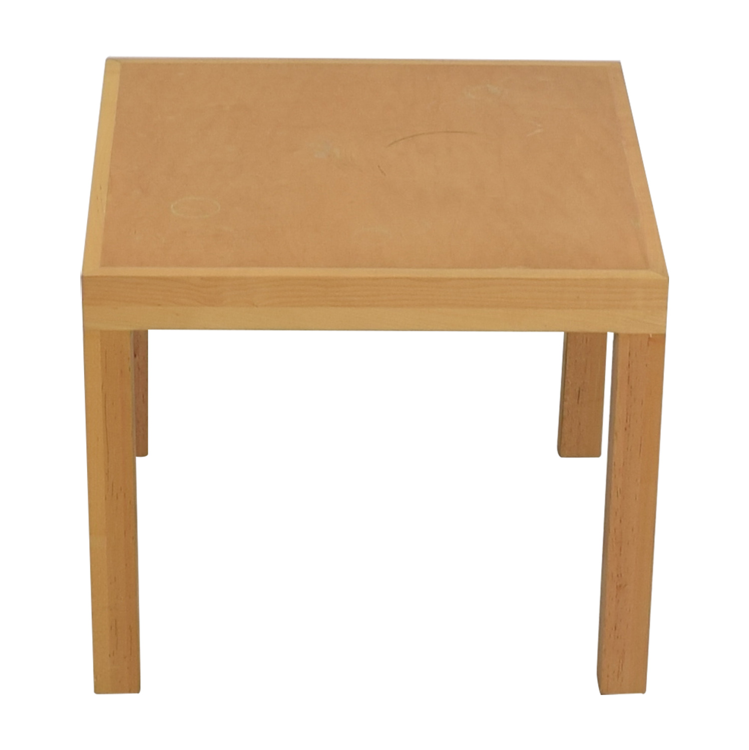 shop Mikes Furniture Tan Side Table Mikes Furniture End Tables