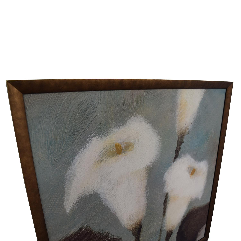 White Calla Lily Flower Artwork Decor