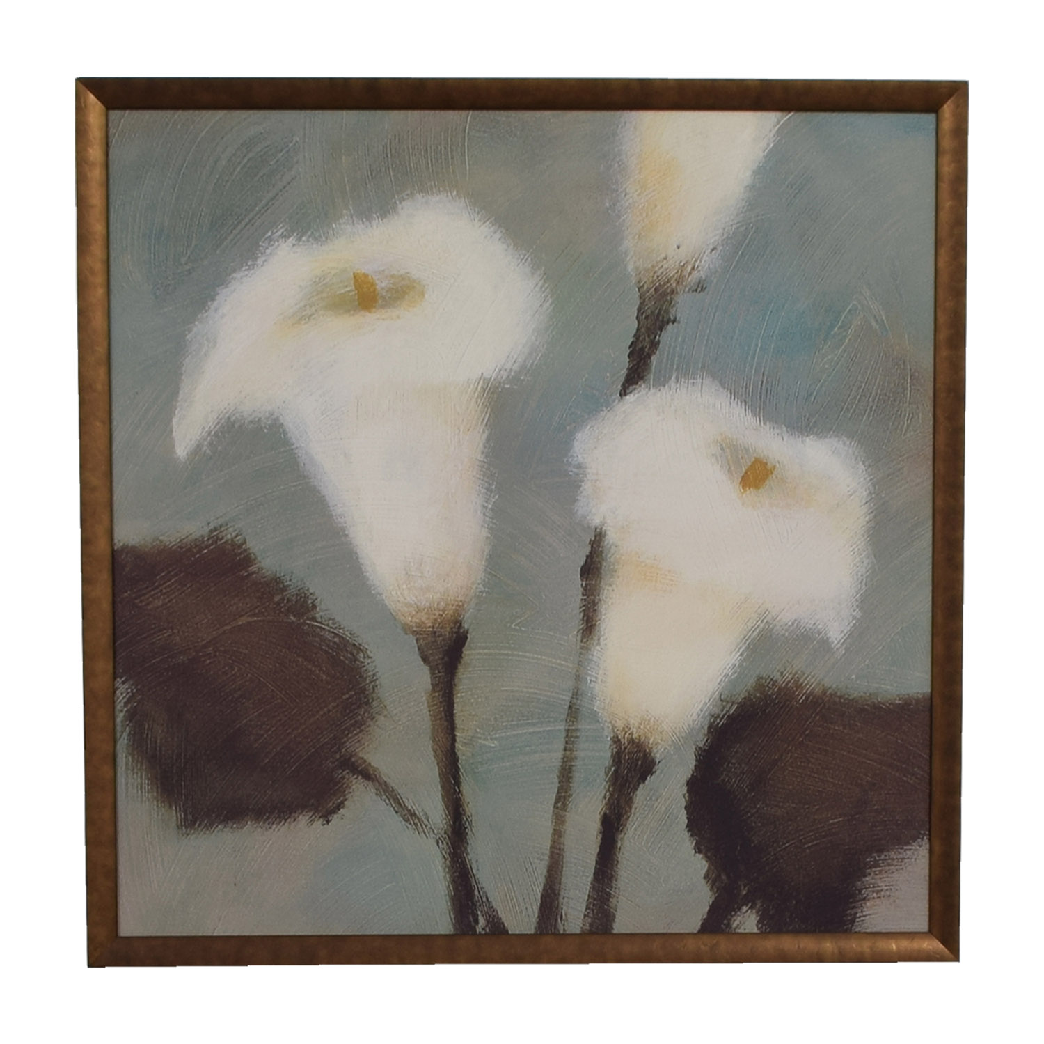 White Calla Lily Flower Artwork Multi