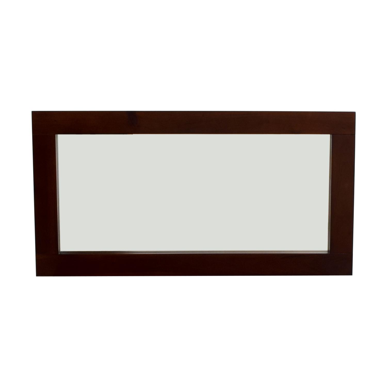 shop Wood Framed Mirror Decor
