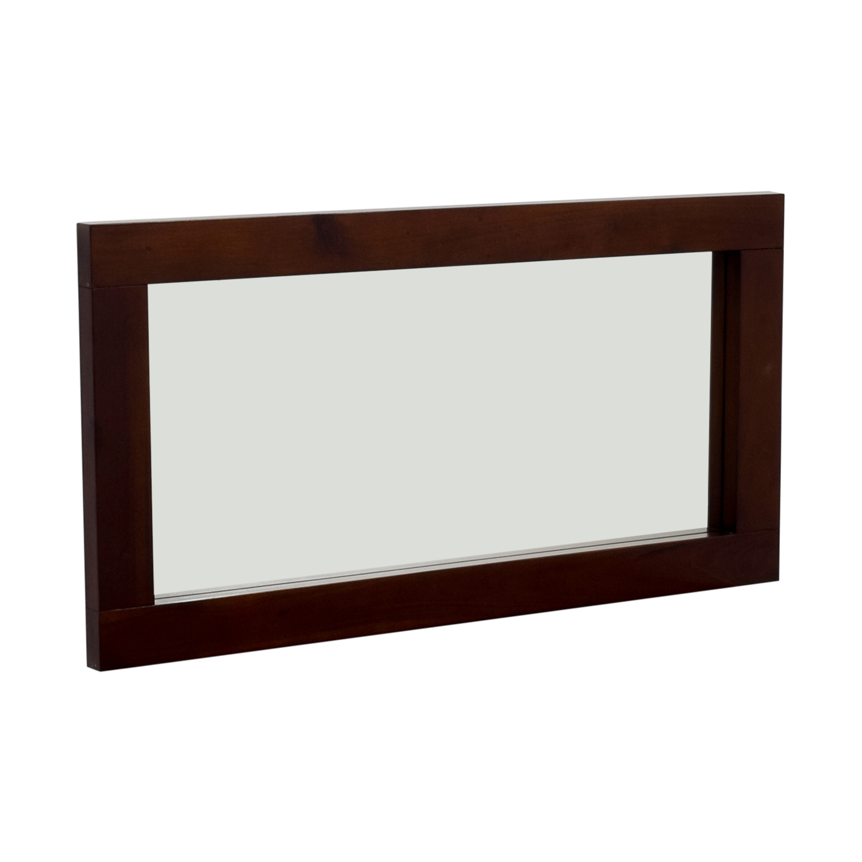 Wood Framed Mirror nj