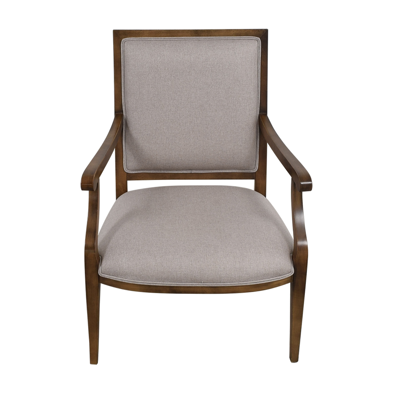 Restoration Hardware Grey Accent Chair Restoration Hardware