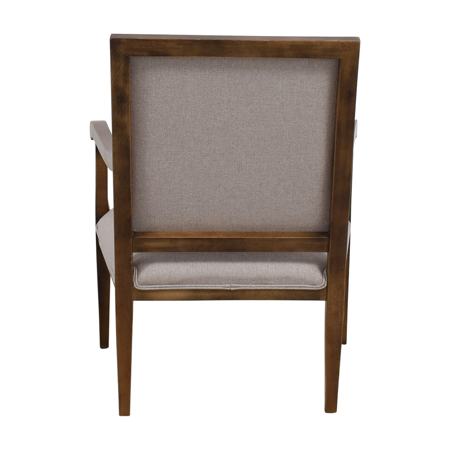 shop Restoration Hardware Grey Accent Chair Restoration Hardware