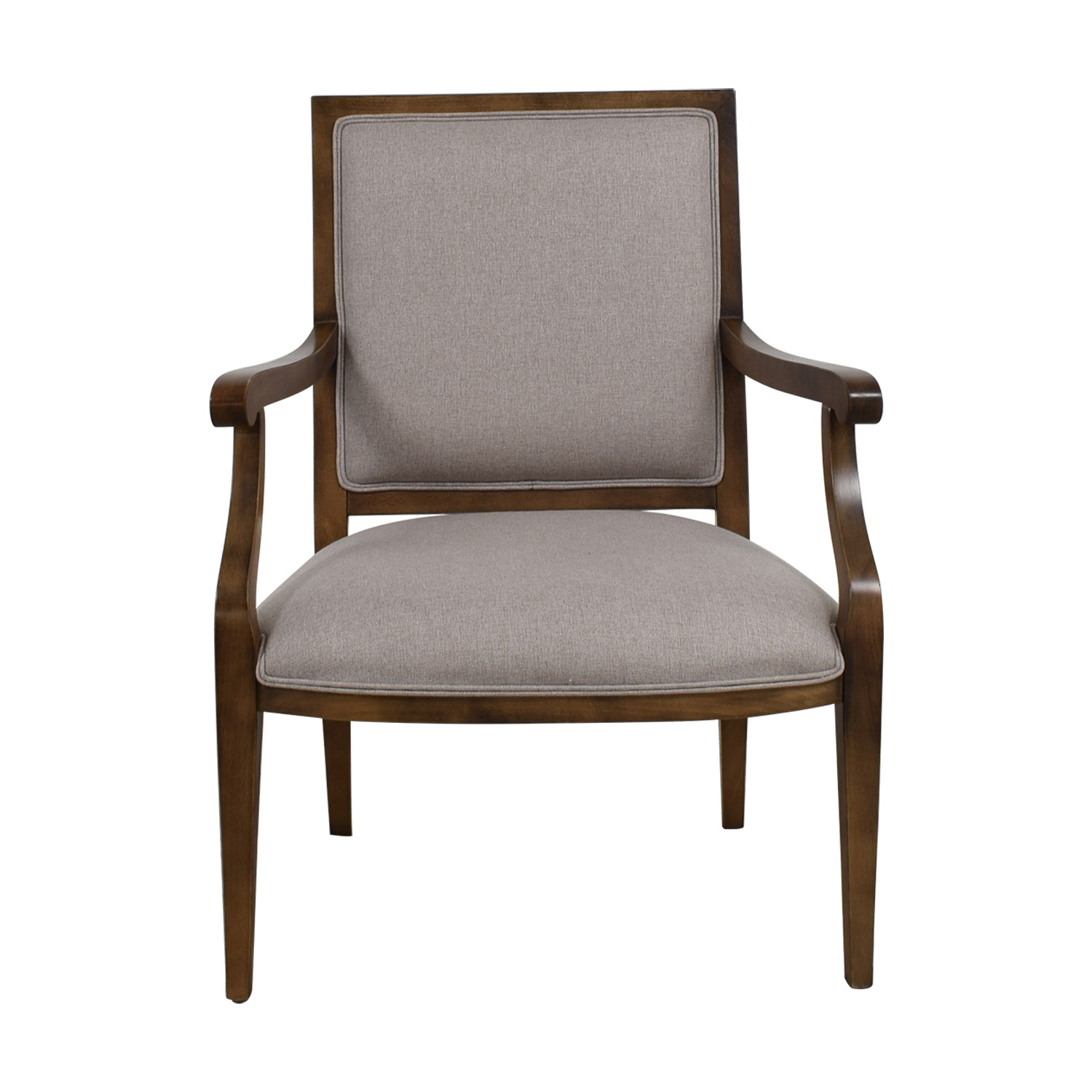 Restoration Hardware Grey Accent Chair / Chairs