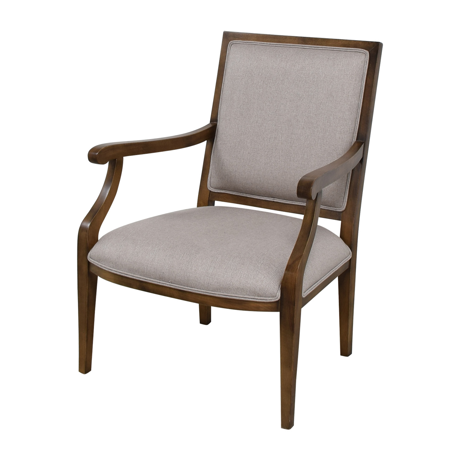 Restoration Hardware Restoration Hardware Grey Accent Chair on sale