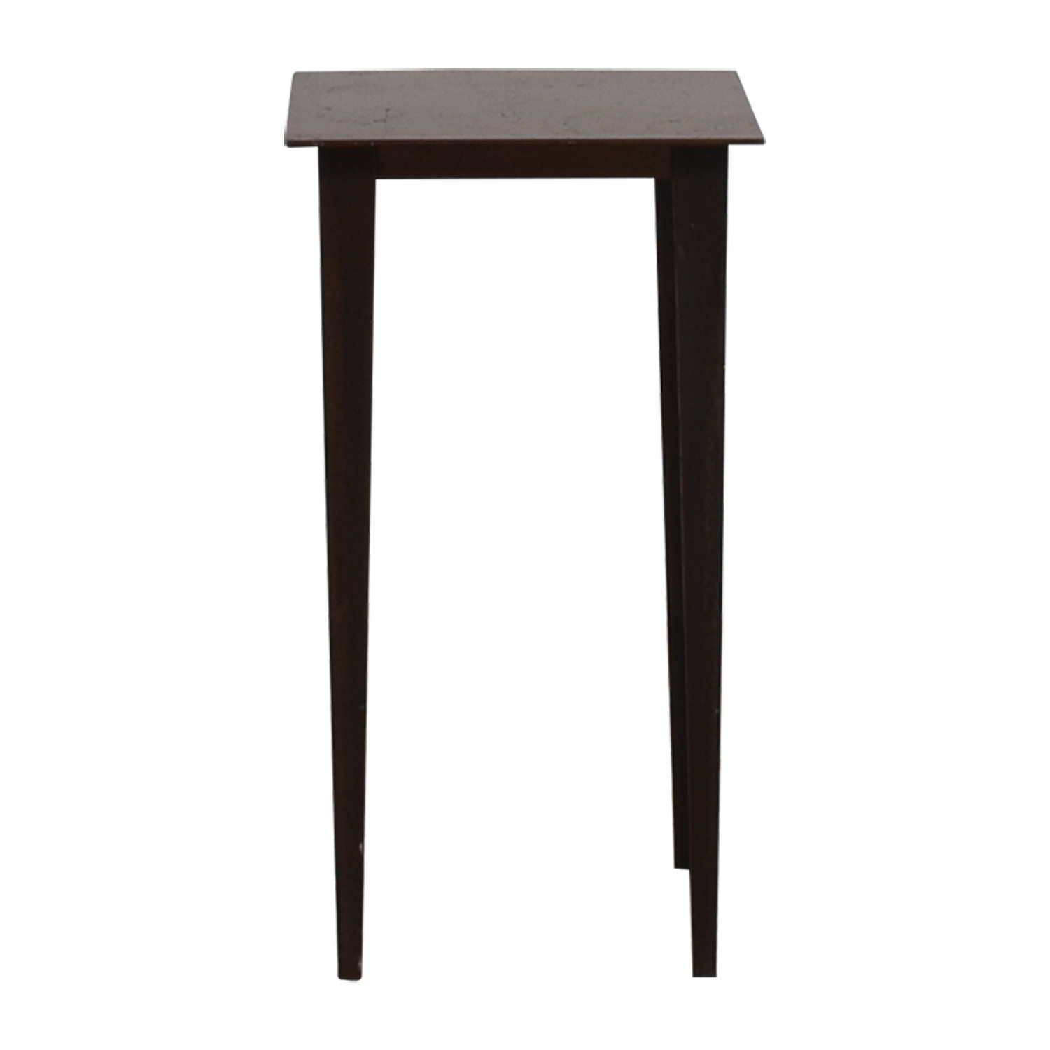 Crate & Barrel Crate & Barrel Wood and Metal Side Table coupon