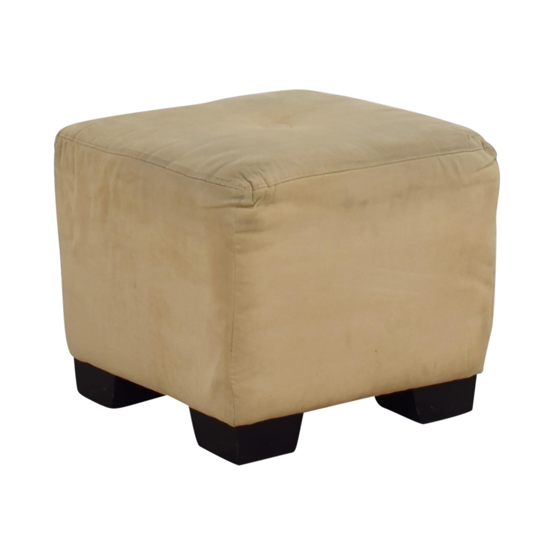 Superb 90 Off Sherrill Furniture Sherrill Furniture Beige Square Ottoman Chairs Cjindustries Chair Design For Home Cjindustriesco