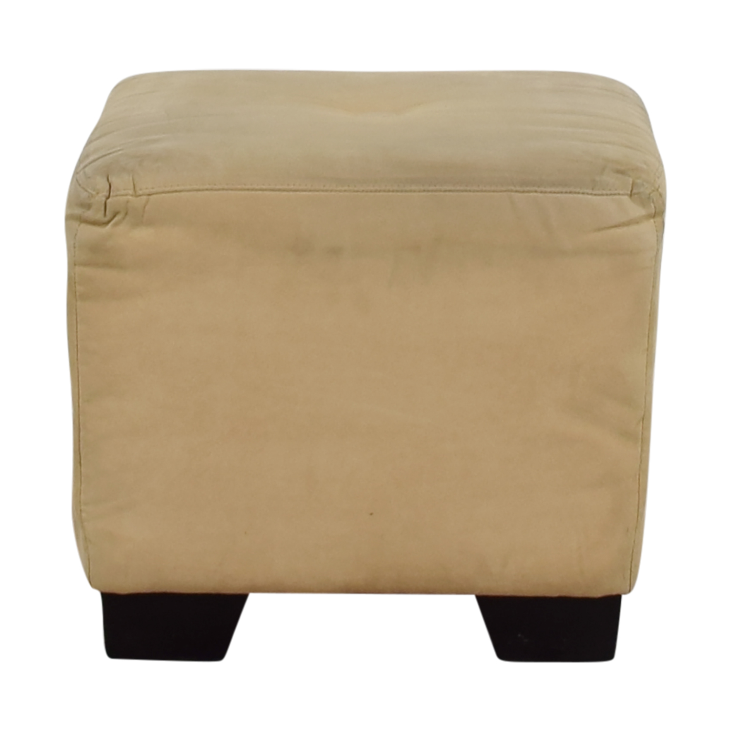 shop Sherrill Furniture Sherrill Furniture Beige Square Ottoman online