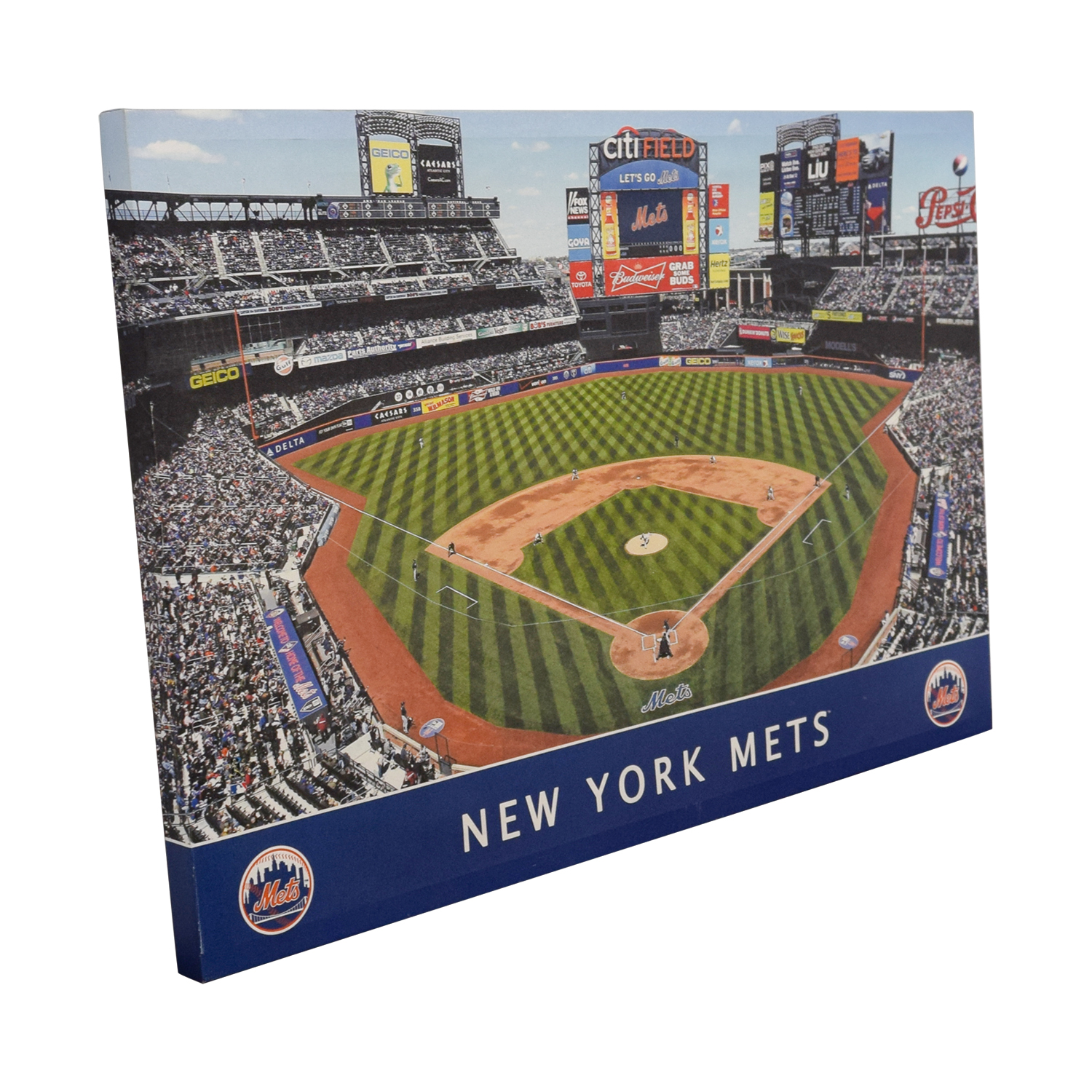 buy MLB New York Mets Stadium Team Print MLB Decor