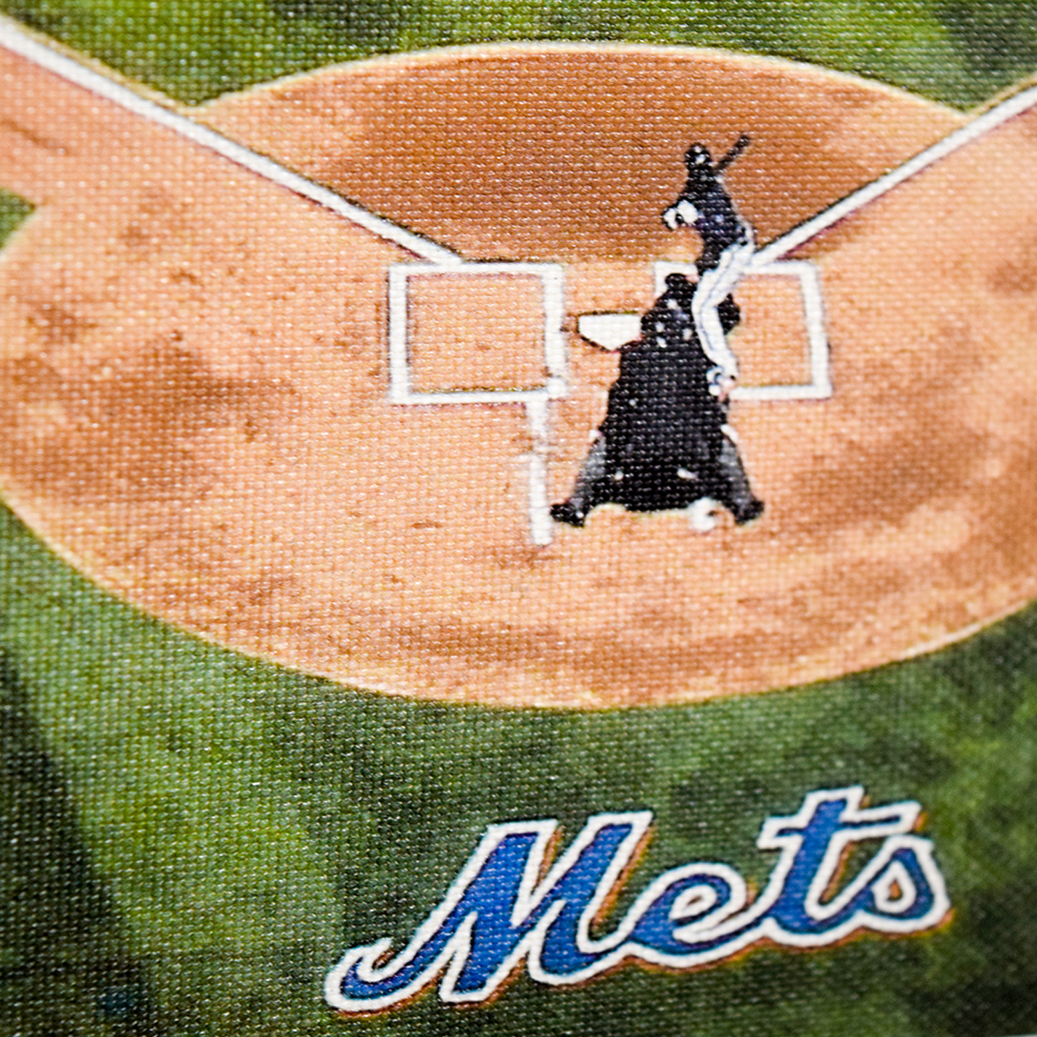 MLB MLB New York Mets Stadium Team Print discount