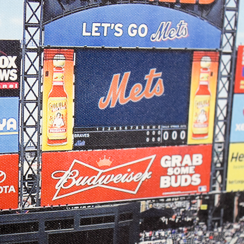 shop MLB New York Mets Stadium Team Print MLB
