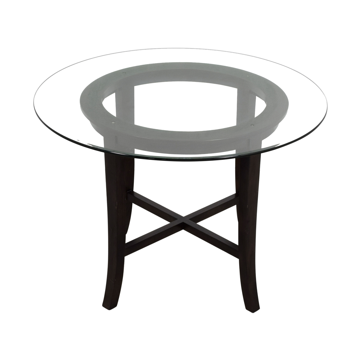 Crate & Barrel Crate & Barrel Halo Ebony Dining Table coupon