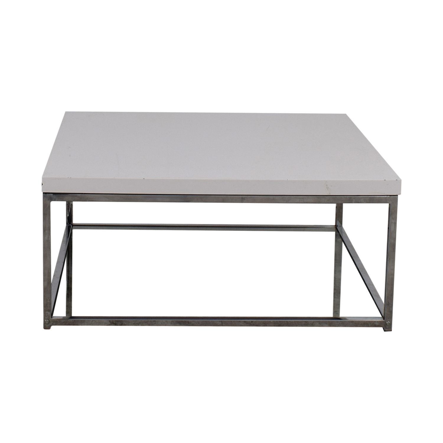 buy Safavieh Malone White Square Coffee Table Safavieh Tables