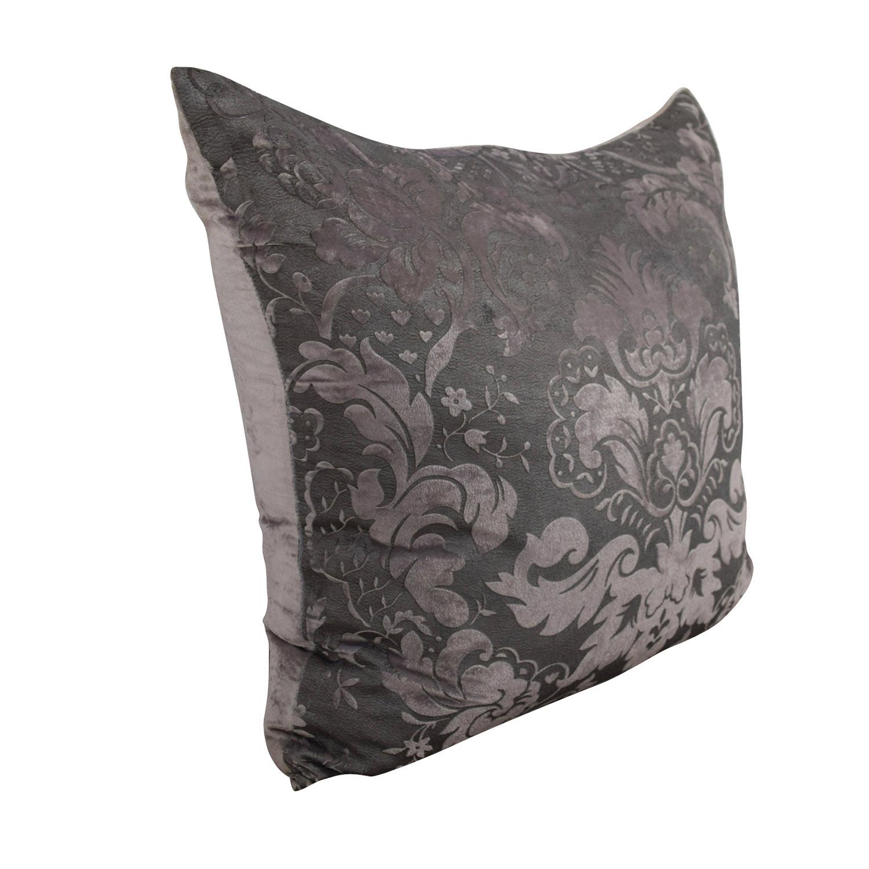 shop Z Gallerie Juliette Orchid Grey Pillow Z Gallerie