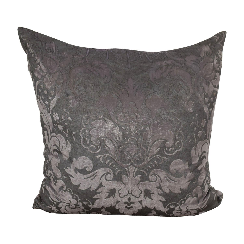 Z Gallerie Z Gallerie Juliette Orchid Grey Pillow nj